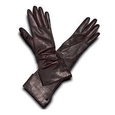 pineider women s leather gloves brown