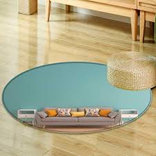 round area rug green mint wall with