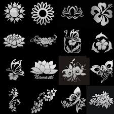 Tancredy Bumper Sticker Beautiful Flowers Series Rose Lotus Flower Vinyl For Car Body Window Car Stickers And Decals Car Styling Shop The Nation