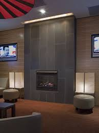 contemporary tile fireplace designs