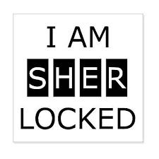 Sherlock I Am Sherlocked Car Bumper Sticker Decal 4 X 4 Ebay