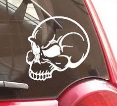 Skull Vinyl Decal For Car Truck Laptop Or Window Halloween Vinyl Decals Car Decals Vinyl