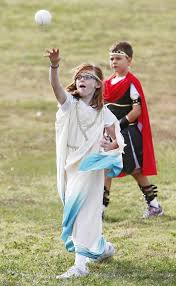 Providence Hall third-graders participate in Greek Olympics - Article Photos