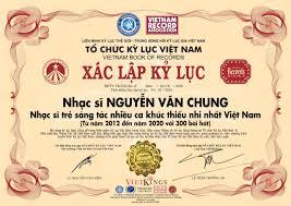 NS Nguyễn Văn Chung xác lập kỷ lục với 300 bài hát thiếu nhi ...