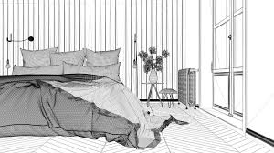 interior design project black and
