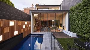 How A Terrace House Owner Fit A Pool Into Her Narrow Backyard Spasa Victoria Swimming Pool And Spa Association Of Victoria