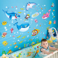 Buy Kaimao Cute Cartoon Animals Wall Stickers Home Decals Art Murals Removable Wallpapers For Children Kids Bedrooms Decoration In Cheap Price On Alibaba Com
