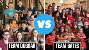 duggar family and bates family their