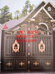Shanghai Hench Custom Usa Australia Home Use Garden Metal Fencing Simple House Gate Doors Aliexpress