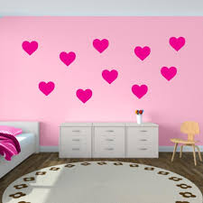 Hearts Wall Decals Shape Wall Decals Wall Decal World