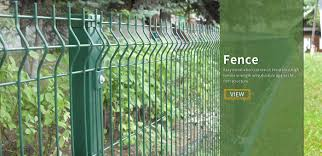Curved Mesh Fence Clear Vu Fence Twin Wire Mesh Fence Zhonghao Traffic Safety Facilities Co Ltd