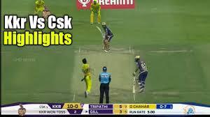 Highlights : CSK vs KKR 2020 Full ...