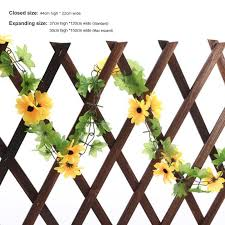 wooden wall fence panel plant