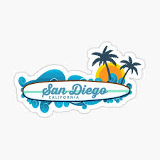 Mission Beach Stickers Redbubble