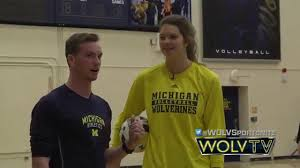 Train Like a Wolverine: Volleyball - YouTube