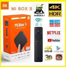 Global Version Xiaomi Mi TV Box S 4K HDR Android TV – Online Shopping Sri  Lanka