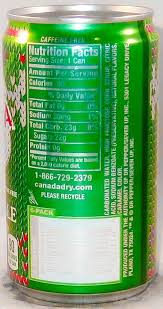 canada dry ginger ale 221ml united states