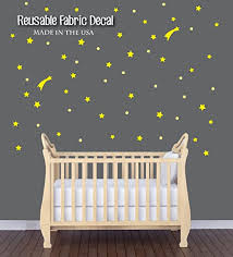 Amazon Com Playroom Wall Decal Yellow Wall Decals Yellow Star Decal Baby