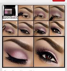 gorgeous simple eye makeup step by