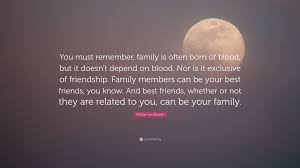 """trenton lee stewart quote """"you must remember family is often"""