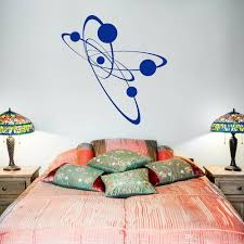 Atom Electron Wall Sticker For Bedroom Vinyl Wall Decals For Living Room Science Home Interior Design Decal Office Murals Wall Vinyl Stickers Wall Vinyls From Joystickers 13 97 Dhgate Com