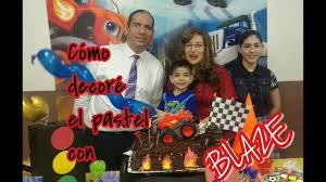 Pastel Con Decoracion De Blaze Fuera De Lo Comun Youtube