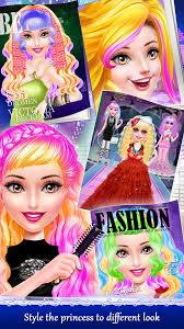 hairdresser hair salon games app for
