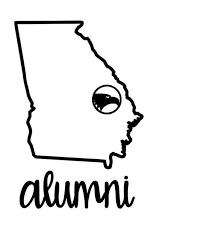 Georgia Decal Georgia Southern Decal Alumni Decal Cup Etsy