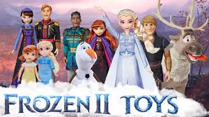 new frozen 2 toys dolls and