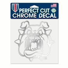 Fresno State Bulldogs Official Ncaa 4 X Chrome Automotive Car Decal 6x6 By Wincraft 508638 Walmart Com Walmart Com