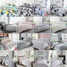 geometric bedding sets duvet covers