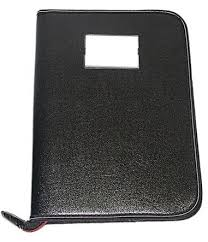 leather professional files and folders