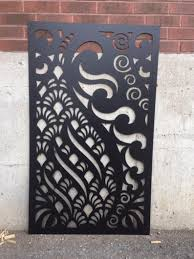 Metal Privacy Screen Fence Decorative Panel Wall Art Etsy In 2020 Etsy Wall Art Panel Wall Art Decorative Panels