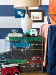 How To Make Kid Friendly Chalkboard End Tables Hgtv