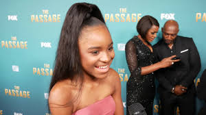 Saniyya Sidney at FOX The Passage Premiere - YouTube