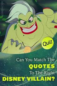 quiz can you match all of these quotes to the right disney