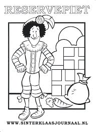 Sinterklaasjournaal Kleurplaat 0017