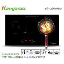 ELHA500 giảm tối đa 500k]Bếp điện từ đôi Kangaroo KG435i