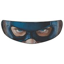 Captain America Motorcycle Helmet Shield Sticker