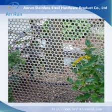 China Perforated Metal Mesh Screen Fencing China Perforated Metal Fence Garden Fence