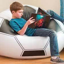 Children S Sofas Kids Furniture Kids Sofa Bean Bag Kids Chair Nordic Inflatable Football Sofa Chair Chaise 108 110 66cm New Hot Children Sofas Aliexpress