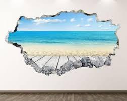 Beach Wall Decal Etsy