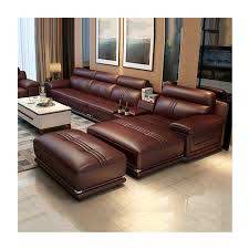 furniture genuine leather sofa set