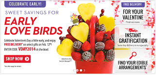 edible arrangements free delivery on