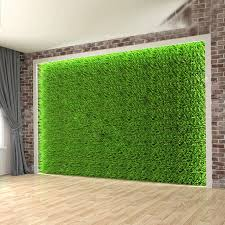 synthetic vertical green wall