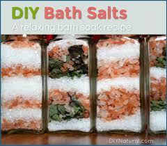 diy bath salts a homemade bath soak
