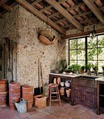 garden potting shed interiors