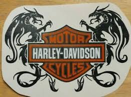 Harley Davidson Dragon Vinyl Window Decal 7 8 9 10 Ebay