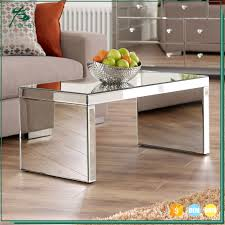 living room furniture mdf mirrored