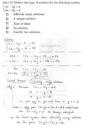 two equations containing two variables